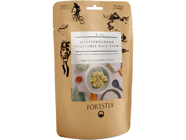 Forestia Repas outdoor Vegan 350g, Meditteranean Vegetable Rice Stew